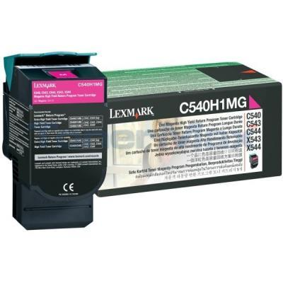 LEXMARK C540 C543 TONER CARTRIDGE MAGENTA RP 2K